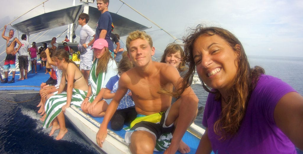 Kids Dive Training Service, Kids Sea Camp Family vacations, Margo Peyton