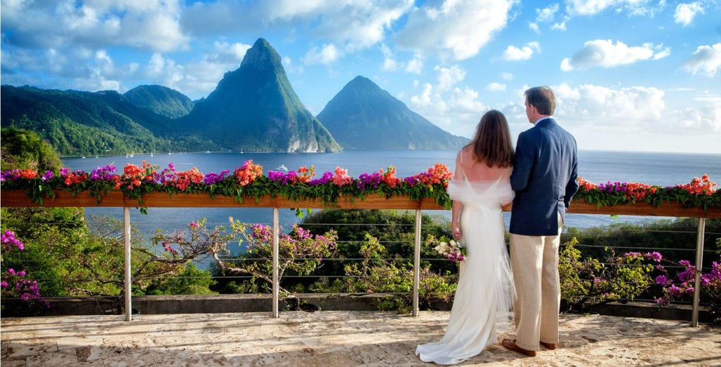 Weddings, honeymoons, Jade Mountain, family Dive Adventures