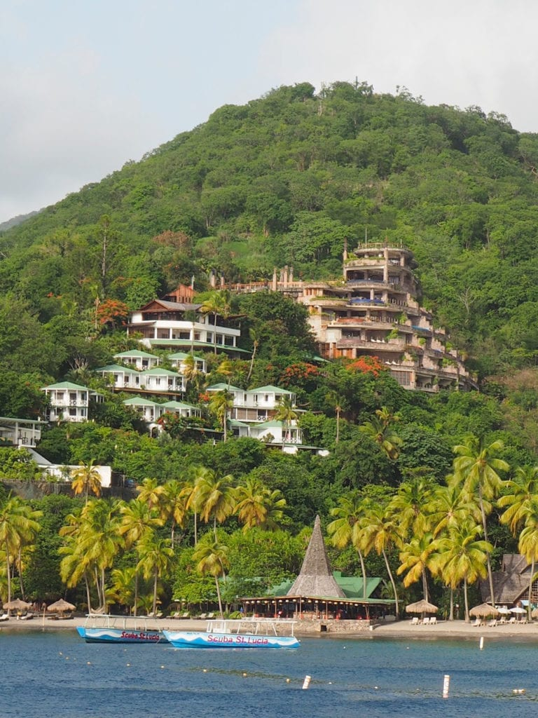 Anse Chastanet, Jade Mountain, family vacations, scuba diving