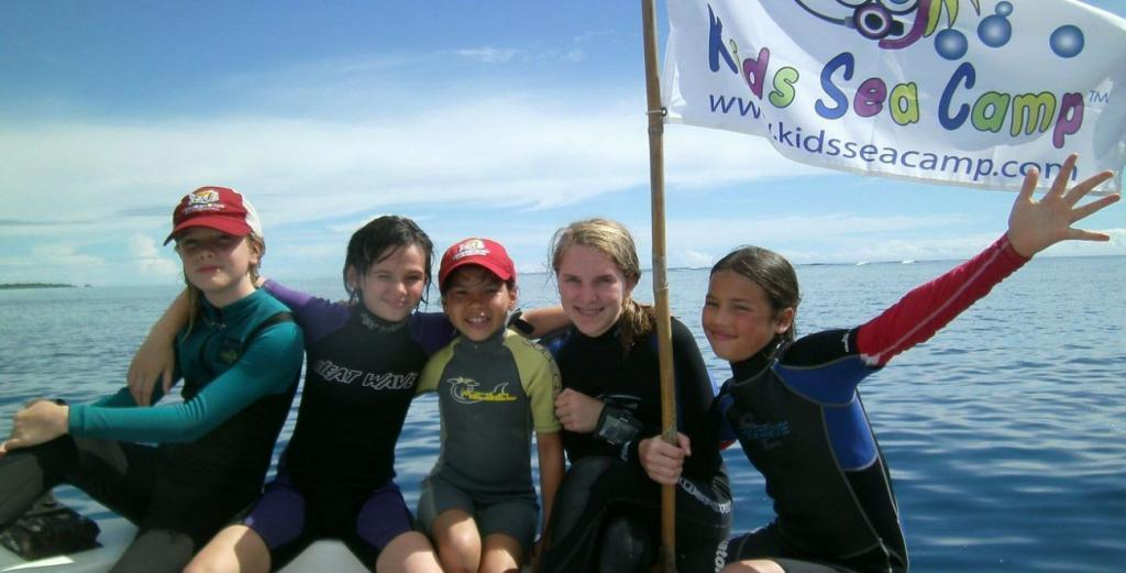Palau, Kids Sea Camp, Family Camps, kids and scuba diving, Thanksgiving