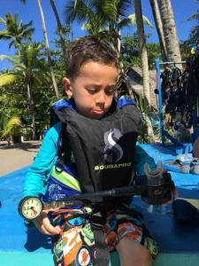 Kids and diving, Sasy, Seals, Kids Sea Camp, family vacations