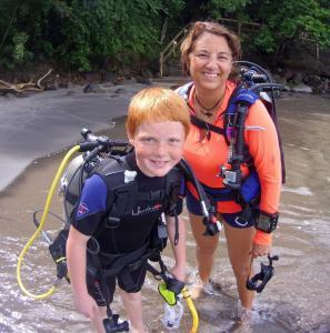Seal training, Kids Sea Camp, Family Vacations, Kids diving