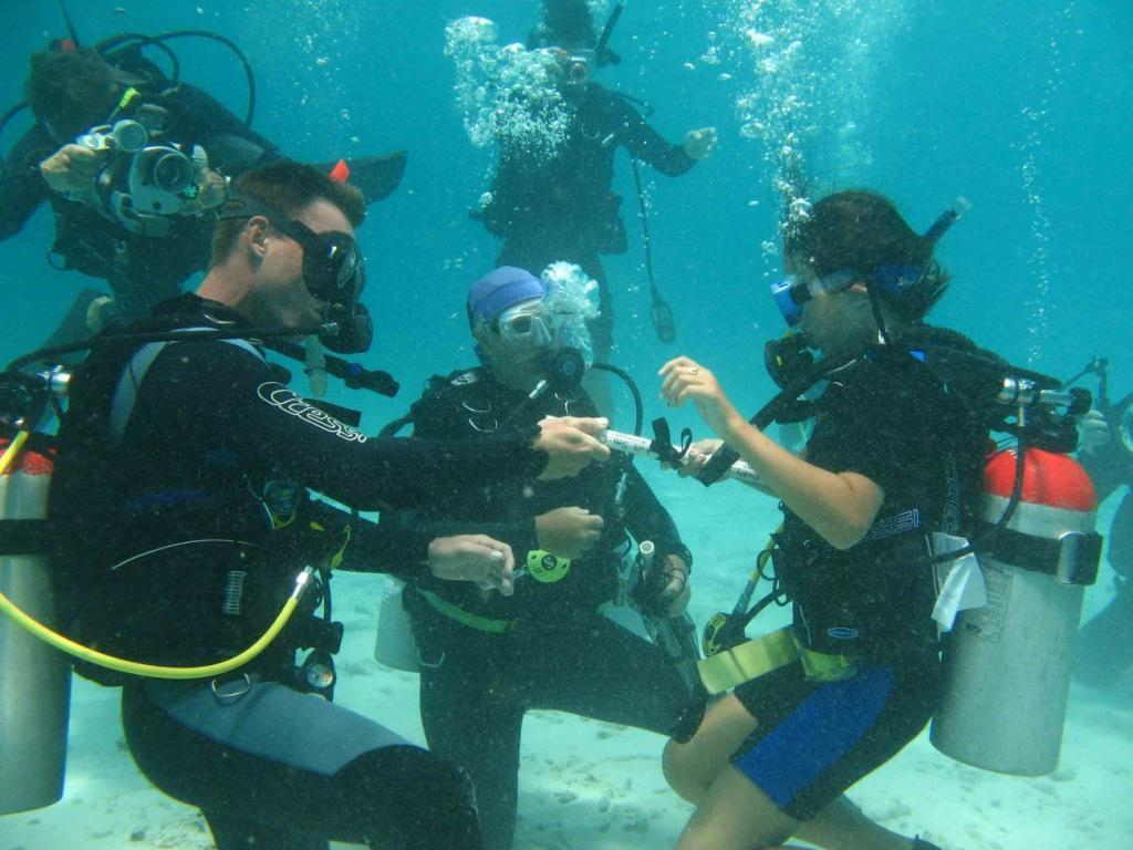 Kids Sea Camp, family dive vacations, kids dive training