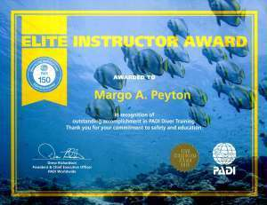 elite, kids and diving, Kids Sea Camp, Margo Peyton