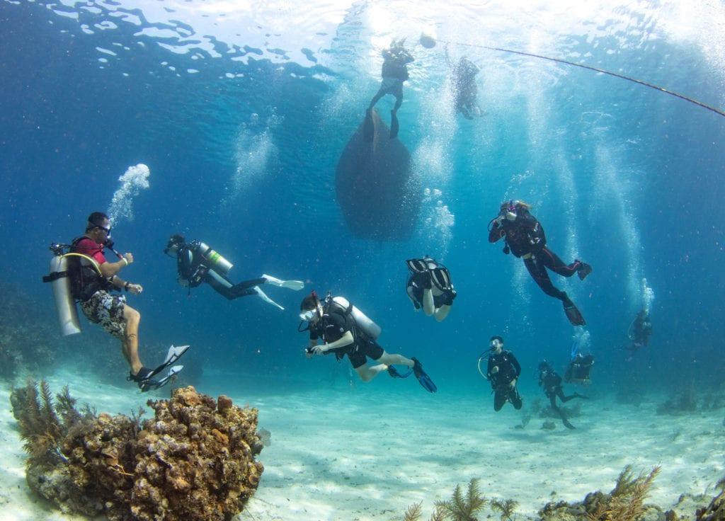 PADI, Kids Sea Camp dive training, Scuba Diving