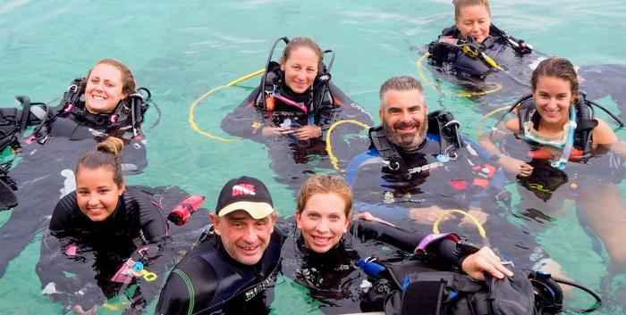 PADI, Kids Sea Camp, Dive training