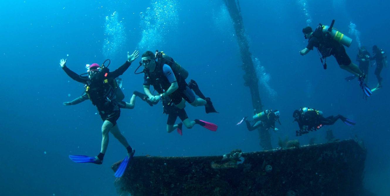 Wreck diving, Dive Training, Kids Sea Camp