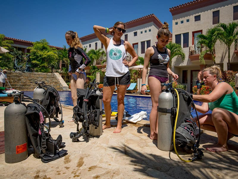 Scuba Tune-up, Dive Training, Scuba, Kids Sea Camp, e-learning