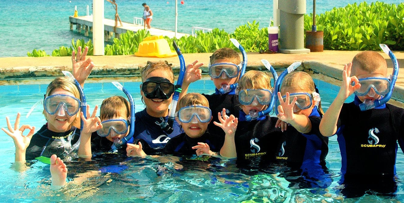 ScubaPro, Kids Sea Camp, Family vacations, Sealife, PADI