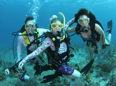 Kids Sea Camp, Family Diving, Family vacations