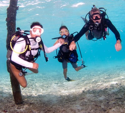 Family vacations, Kids and diving, Kids Sea Camp