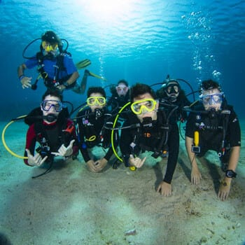 Dive Training, diving safety tips, scuba diving with kids, kids sea camp