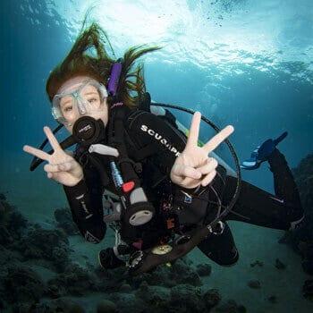 Descriptions of diving, PADI, Kids Sea Camp, junior open water