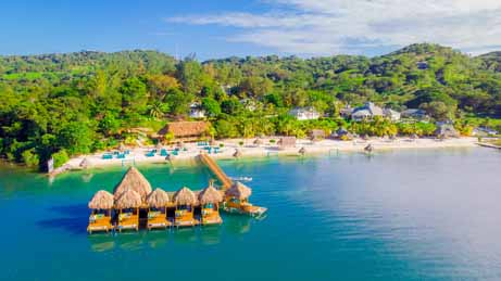 Roatan, Turquoise bay, Kids and diving, family vacations