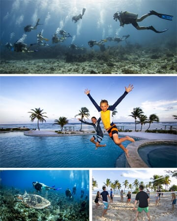 cayman brac, Kids and diving, family vacations