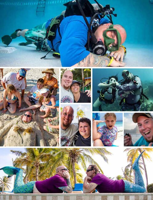Woody Tinsley, Kids Sea Camp, Kids and scuba diving, Family Dive Adventures
