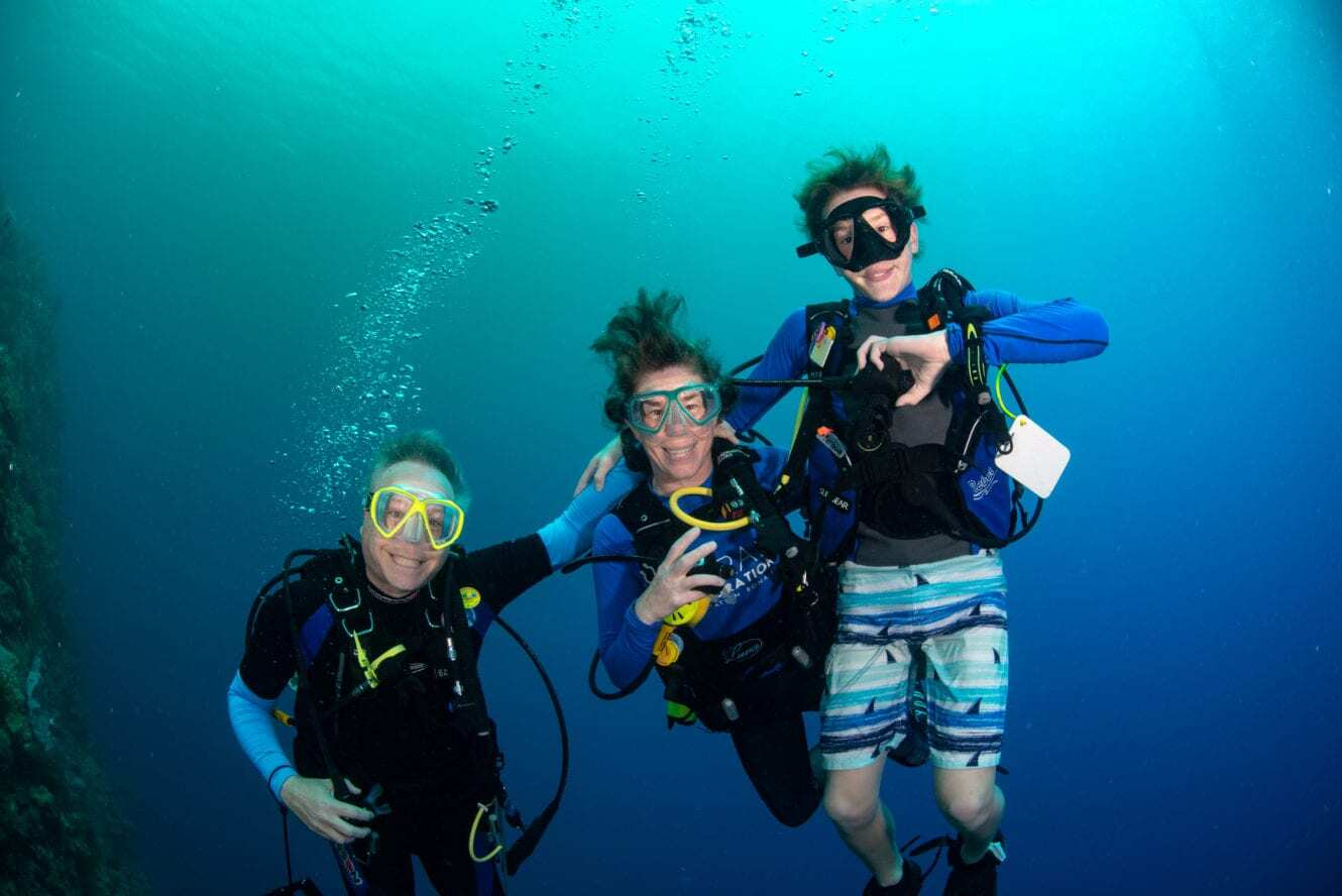 Kids Sea Camp, Family Dive adventures, Family vacations, kids scuba diving, kids scuba training. Philippines