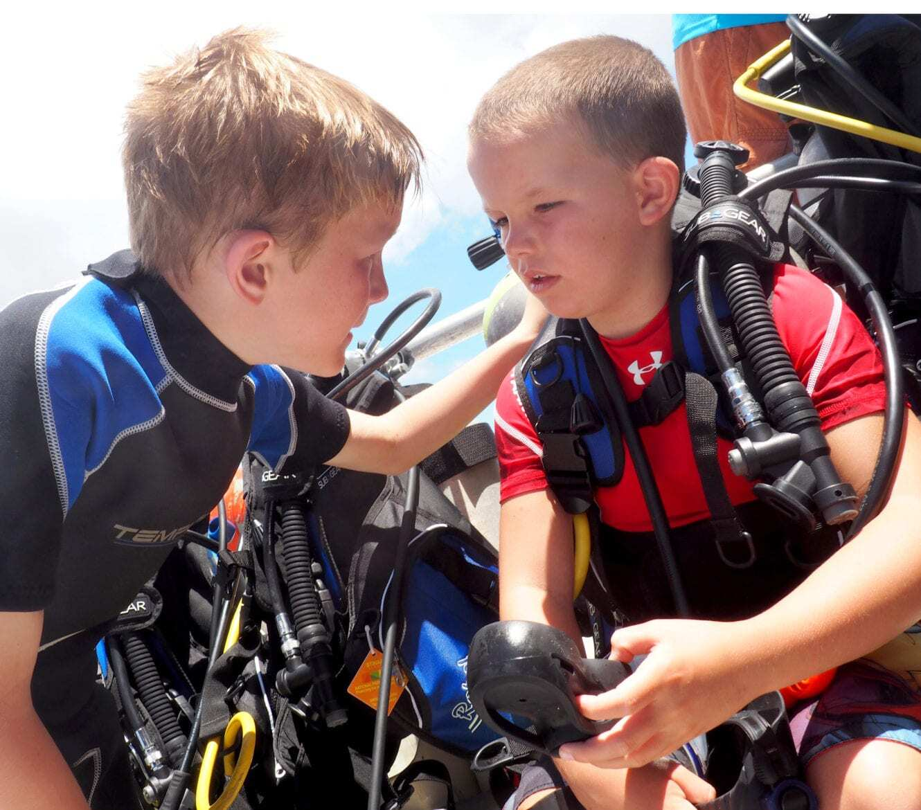 Roatan, Philippines Kids Sea Camp, family vacations, kids and diving